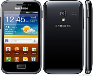 The Samsung Galaxy Ace Plus S7500