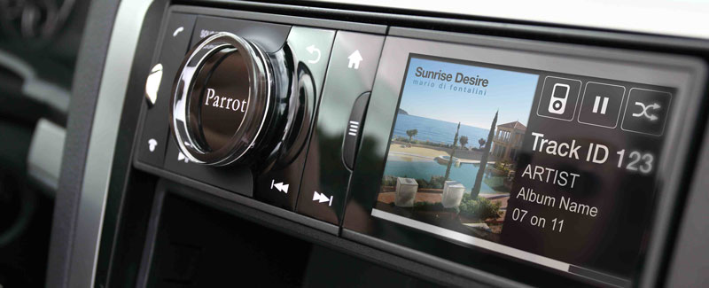 Parrot Asteroid car stereo