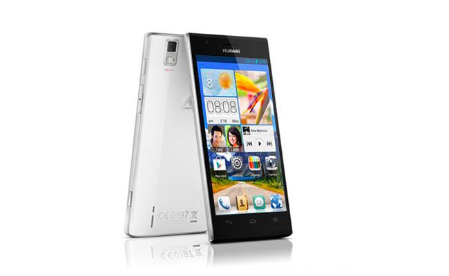Huawei Ascend P2 White