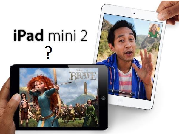 iPad mini 2 rumors