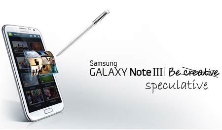 Samsung Galaxy Note 3 rumors