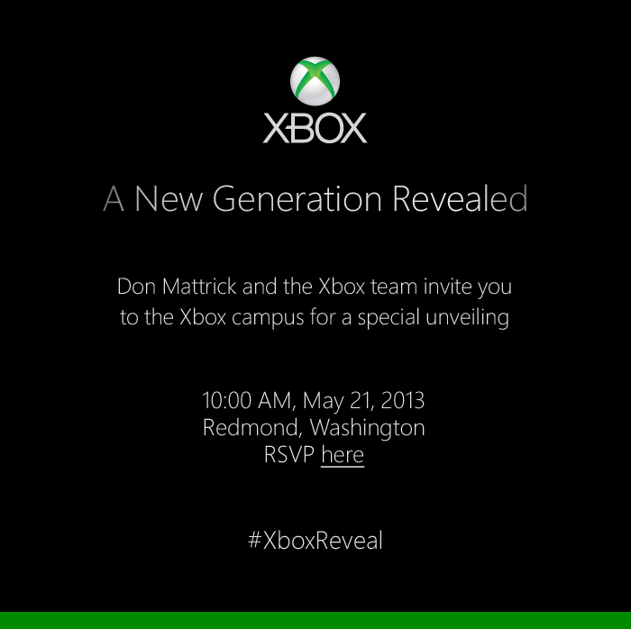 Xbox invitation form