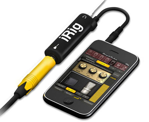iRig connector iPhone