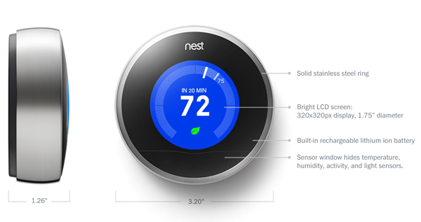 Next Learning thermostat