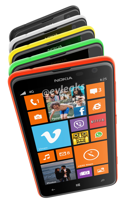 Nokia Lumia 625 leaked shot