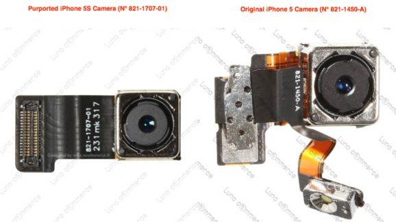 iphone 5S camera part