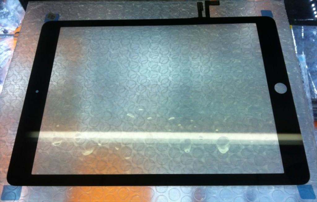 iPad 5 front panel