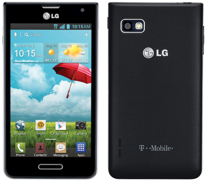 How to unlock LG Optimus F3