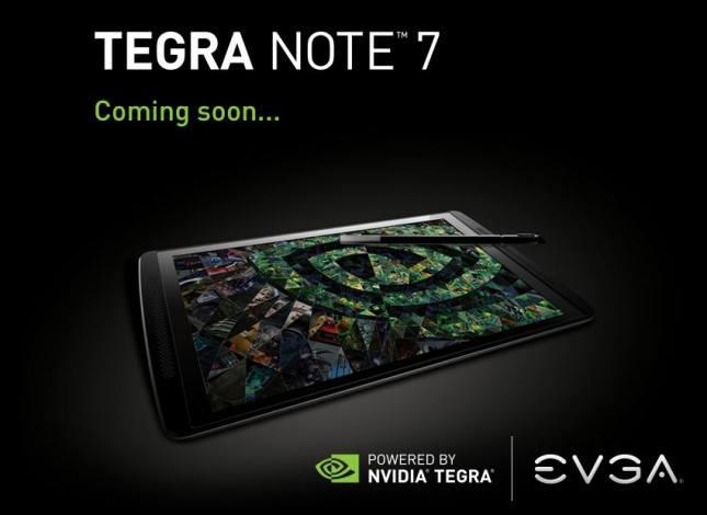 NVIDIA Tegra Note 7