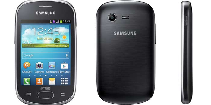 How to unlock Samsung Galaxy Star Trios