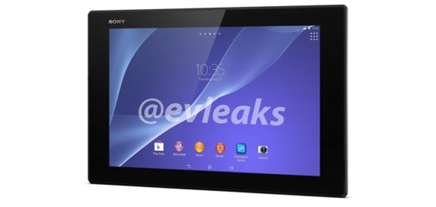 Sony Xperia Tablet Z2 leak
