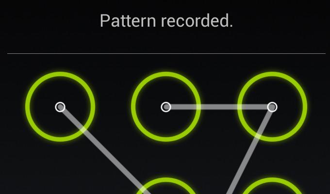 lockscreen pattern