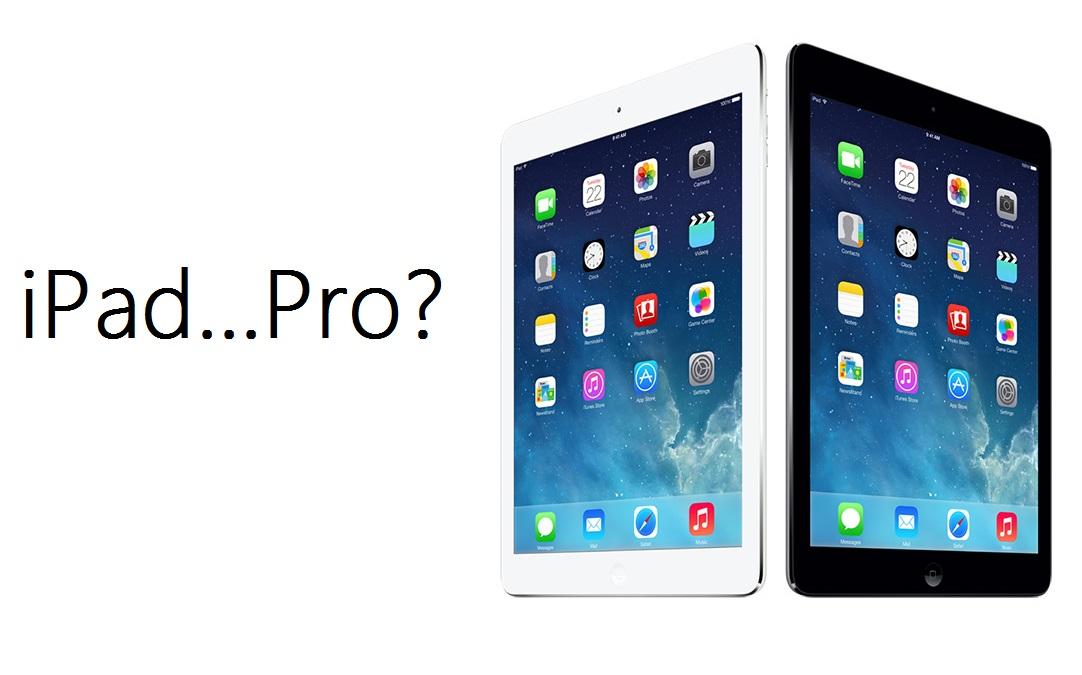 iPad Pro rumors