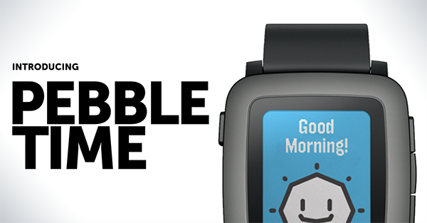 new Pebble Time smartwatch