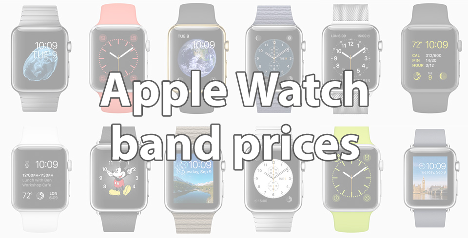 Apple Watch band prices