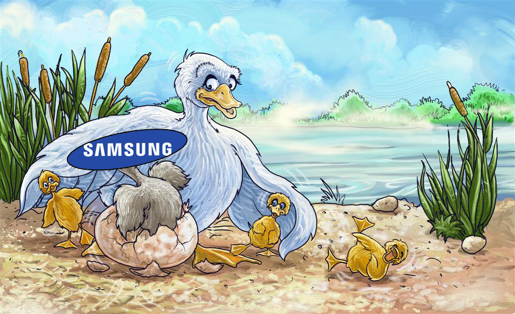 samsung ugly duckling