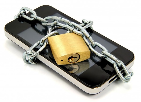 locked smartphone