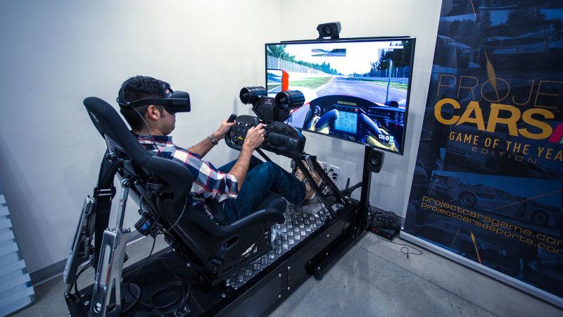 Virtual Reality Simulators: Project Cars