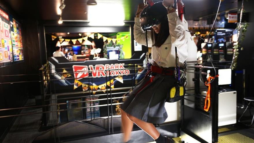 VR Park arcade