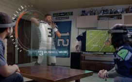 Virtual reality companies: Microsoft Hololens