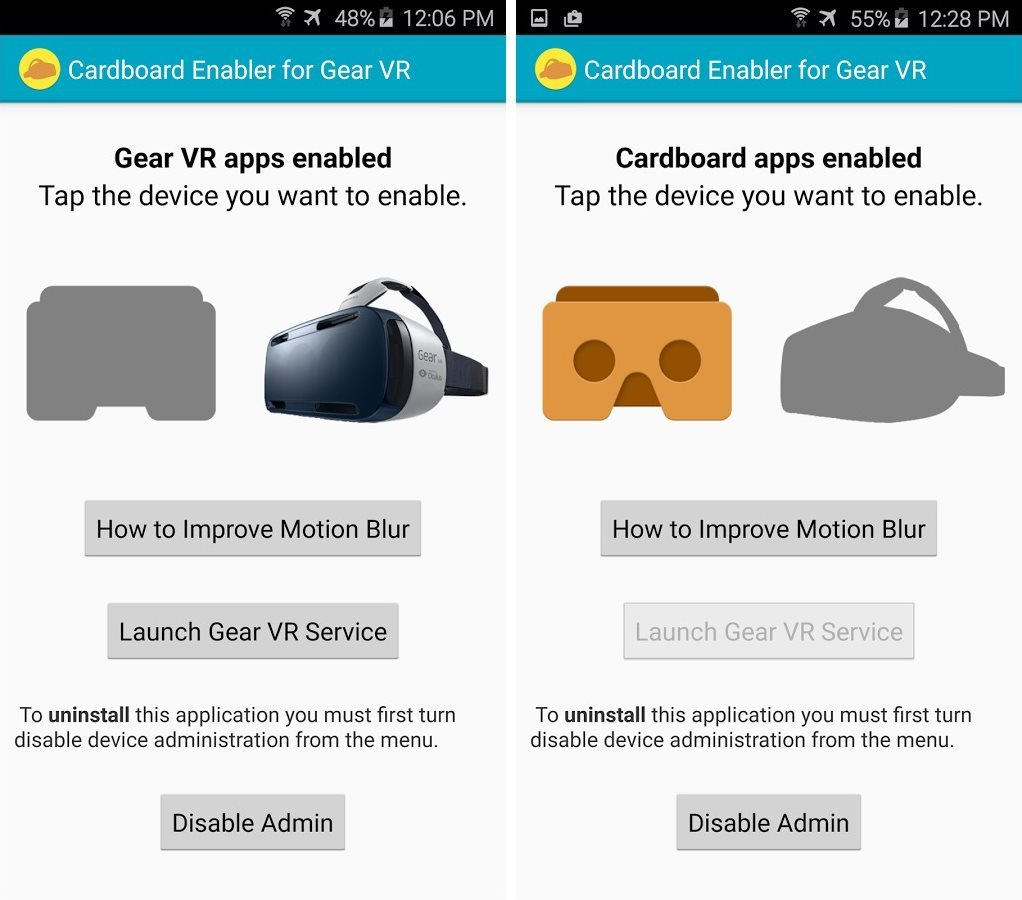 How can I use the CB Enabler for Gear VR? | UnlockUnit