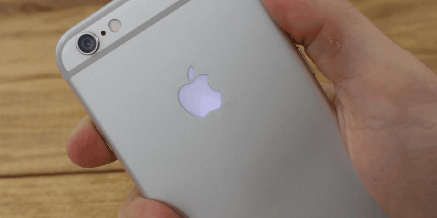 Soft reset an iPhone 6