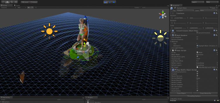 Unity augmented reality