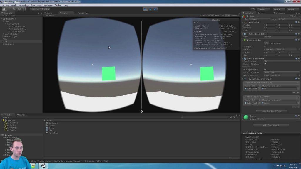 Using Unity for Gear VR development: The beginner's guide