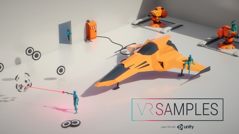 Unity VR samples