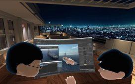 Bigscreen virtual reality office