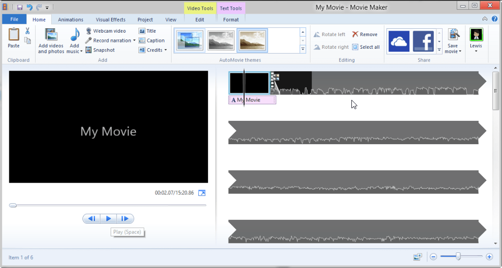 I cant rotate a video in windows media player what should i do windows movie maker ccuart Images