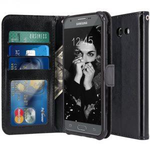 LK Leather Wallet Case