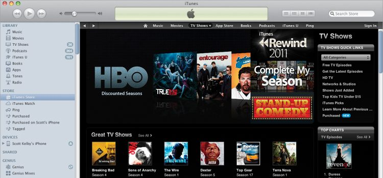 Add movies to iTunes