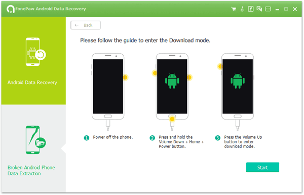 Android Data Recovery Download Mode