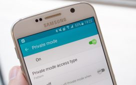 Samsung Private Mode